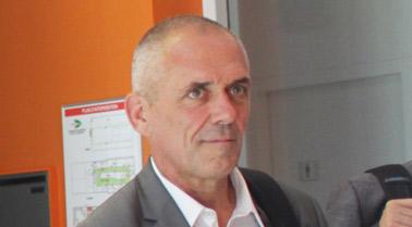 Visite Président CNRS sur Axel'One Campus