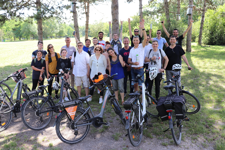 10 ans Axel'One - Sortie vélo électrique